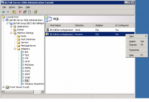 SQL Adapter Hosts