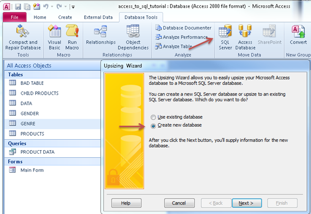 how to make a database in access 2013 tutorial 1