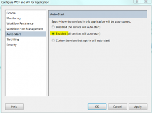 Windows Server AppFabric Auto Start