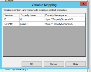 variable mapping