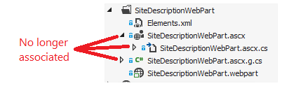 Disconnected Web Part File