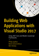 Visual Studio Book Cover Ben Dewey