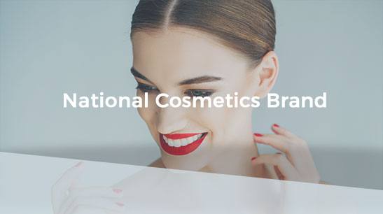 Client Story - National Cosmetics Brand