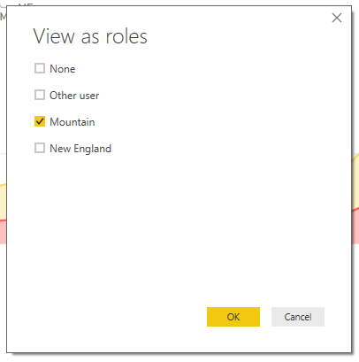 Roles - View as Roles