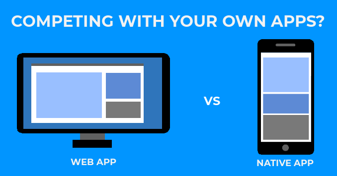 Competing with your own apps?