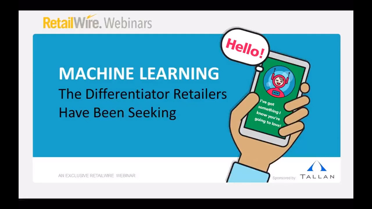 ML for Retailers YouTube