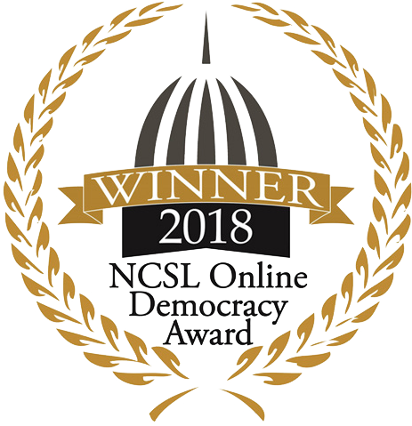 NCSL Online Democracy Award
