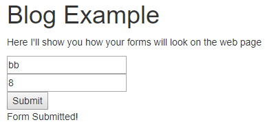 Valid Form Submit